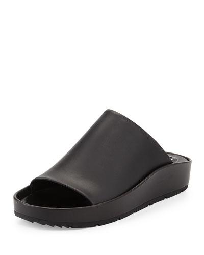 Balenciaga Chunky Leather Mule