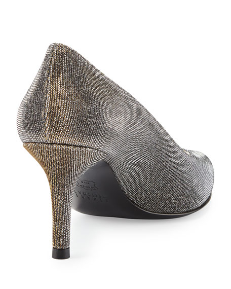 Slender Nocturn Evening Pump, Pewter
