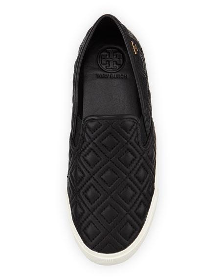 Jessie Quilted Slip-on Sneaker, Black