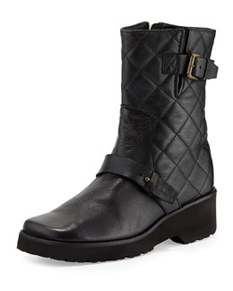 Anyi Lu Adrian Quilted Leather Boot