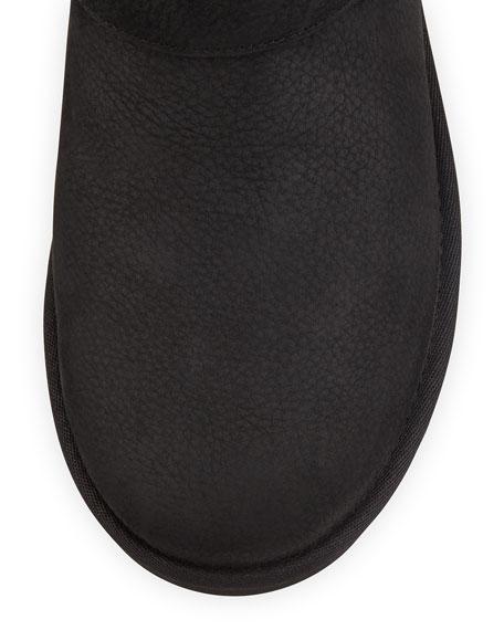 Sutter Sheepskin Moto Boot, Black