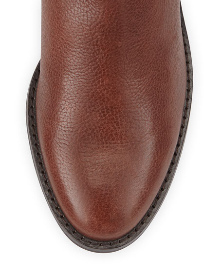Kenmare Leather Riding Boot, Harvest Brown