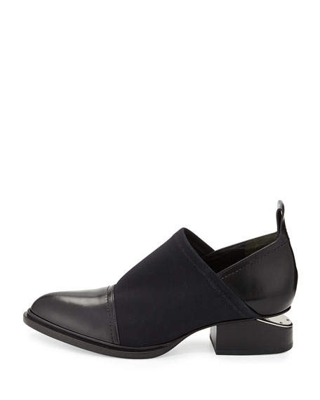 Kori Stretch Neoprene & Leather Shoe, Black