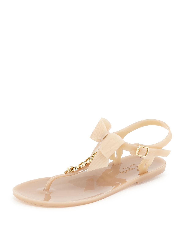 d5599a3b37e9 kate spade new york flise jelly bow thong sandal