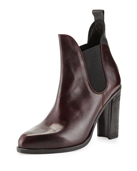 rag bone stanton leather chelsea boot bordeaux. Black Bedroom Furniture Sets. Home Design Ideas