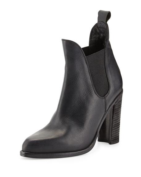 Stanton Leather Chelsea Boot, Black