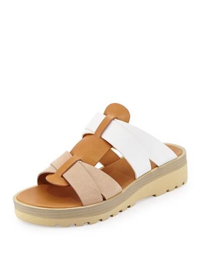 Robin Multi-Strap Sandal, Nude
