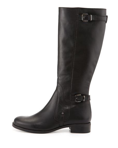 Suzanna Leather Knee Boot, Black