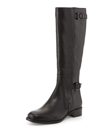 La Canadienne Suzanna Leather Knee Boot, Black