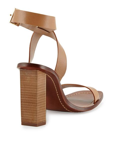 Bleecker Strappy Sandal, Natural Blush
