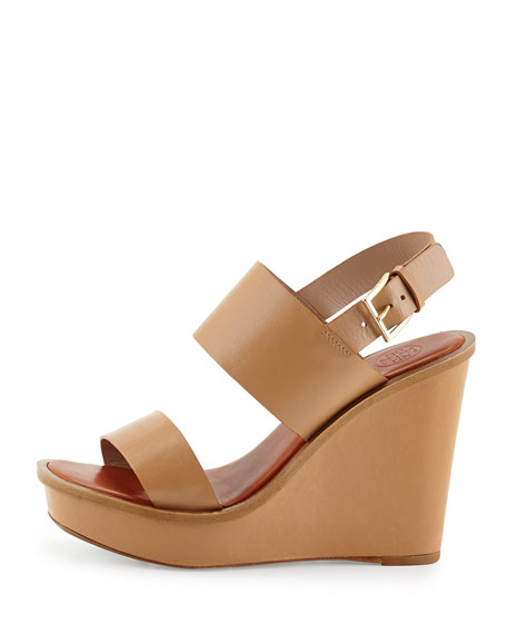 Lexington Leather Wedge Sandal