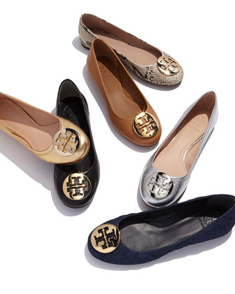 Flats featuring Tory Burch