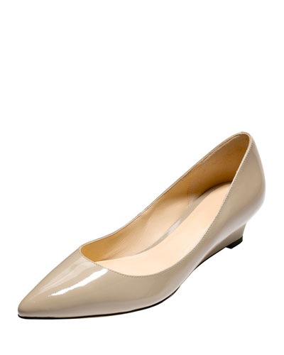 Bradshaw Patent Demi-Wedge Pump, Maple Sugar