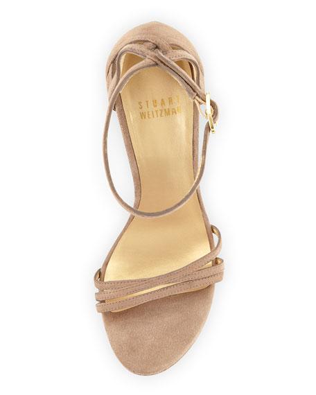 Whichway Suede Platform Sandal, Haze