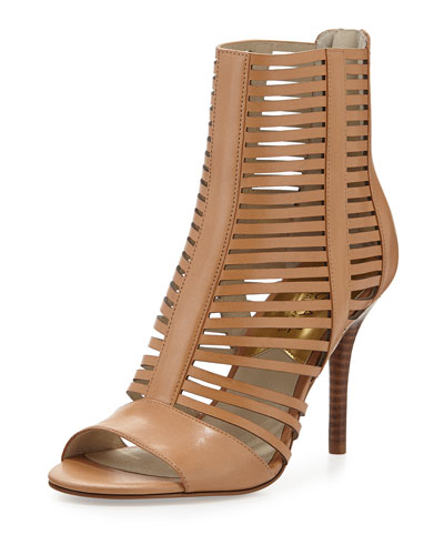 2ee05b567674 MICHAEL Michael Kors Odelia Strappy Open-Toe Bootie Don t Miss ...
