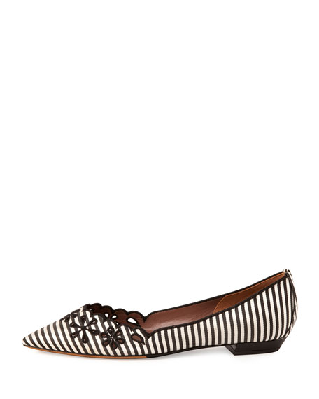 Daisy Chain Striped Flat