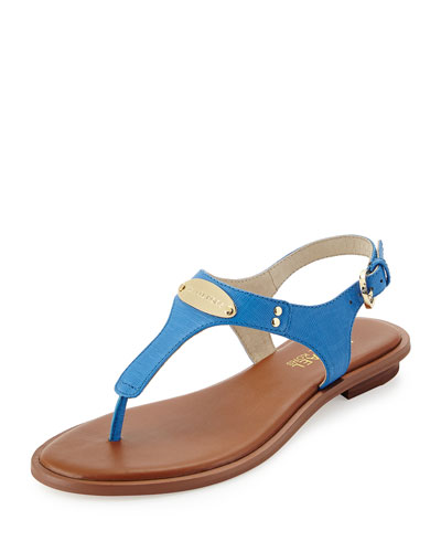 d1a708d2f0ad MICHAEL Michael Kors Plate Thong Sandal Order Now!! - findshopsales