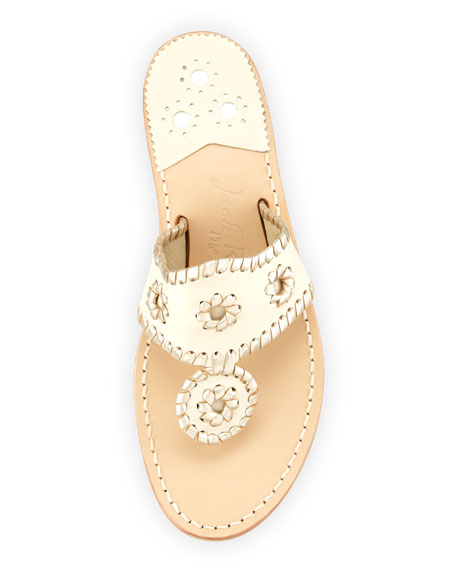 Palm Beach Whipstitch Thong Sandals
