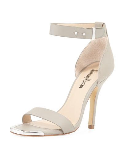 Yani Ankle-Strap Sandal, Dove