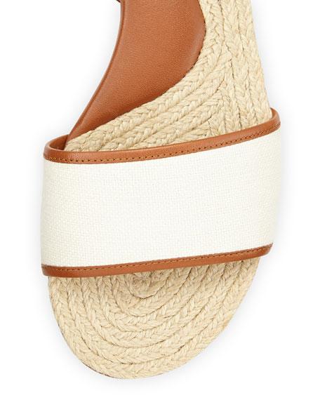 Lilah Flat Espadrille Sandal, Natural