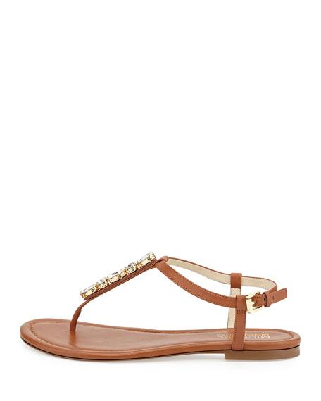 Jayden Embellished Thong Sandal, Luggage