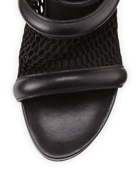 Leah Runway Sport Sandal, Black