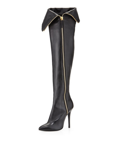 giuseppe zanotti high heel boots