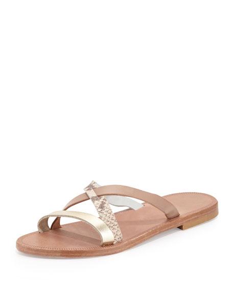 Buenaventura Slip-On Sandal, Nude/Multi