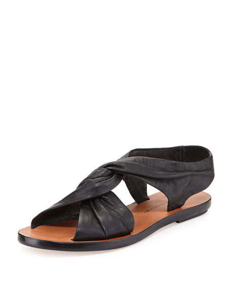 shop for sale online cheap online store Manchester Derek Lam 10 Crosby Leather Thong Sandals free shipping release dates from china free shipping ssHNj8