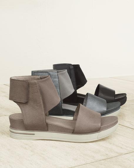 c6238194aba6 Eileen Fisher Spree Sport Leather Sandal