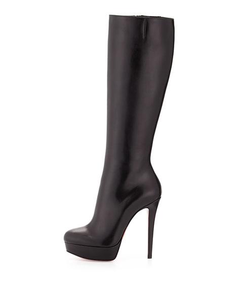 Bianca Botta Platform Red Sole Boot, Black
