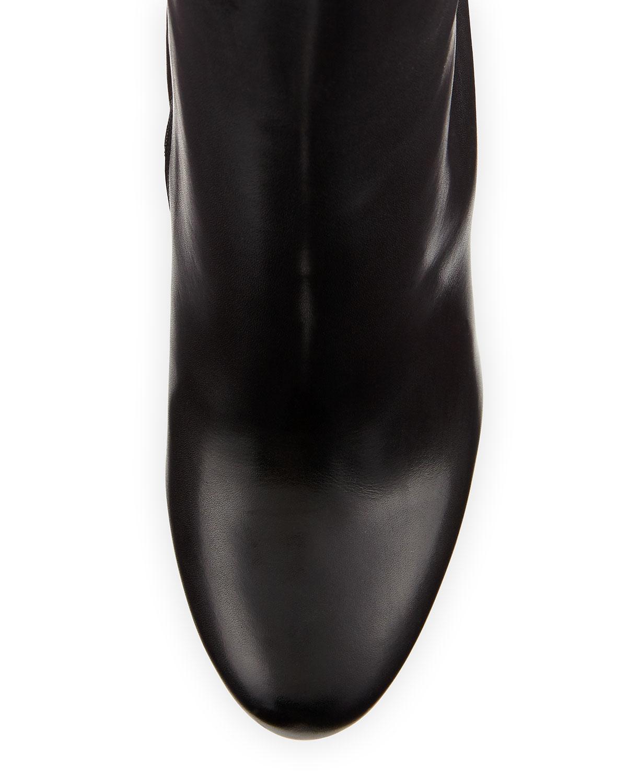 ab55fe3fa6e Bianca Botta Platform Red Sole Boot, Black