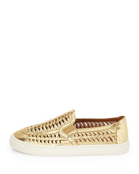 Tory Burch Women's Leather Huarache Slip-On Sneakers anib1vYOVx