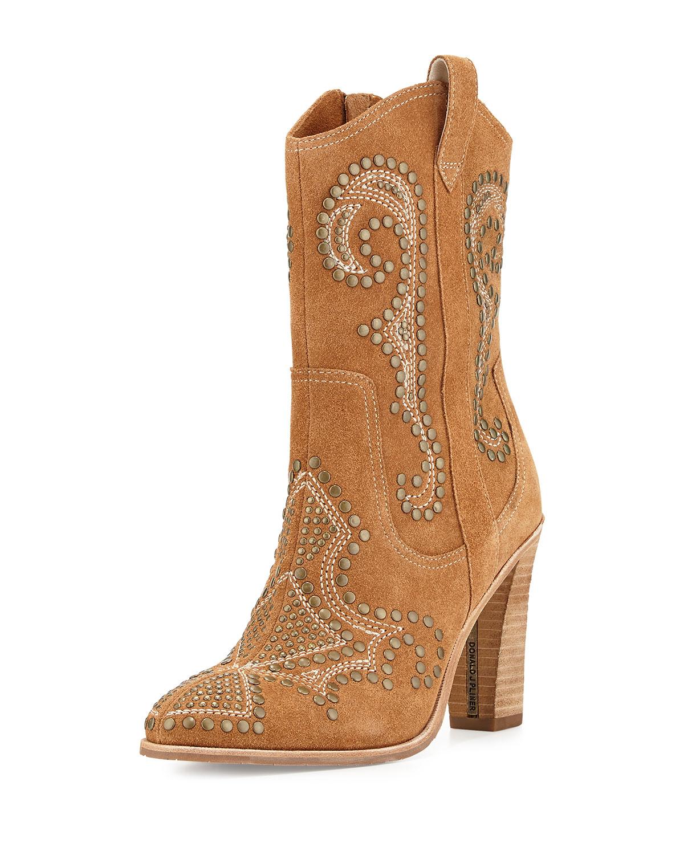 Donald J Pliner Womens Boots Olivia Saddle