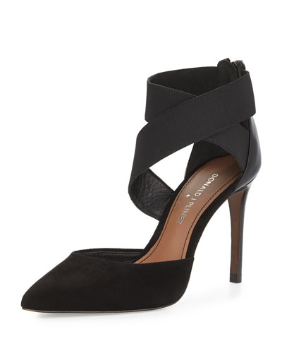 Prime Crisscross-Stretch Pump, Black