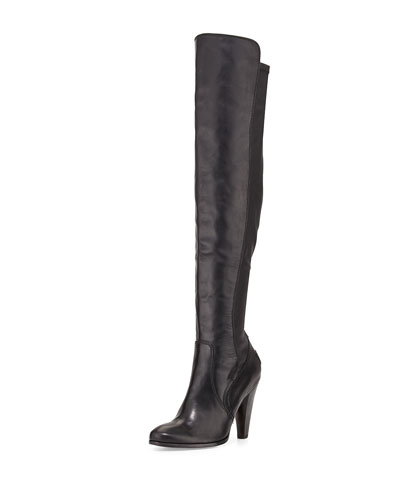 Mikaela Over-The-Knee Boot, Black