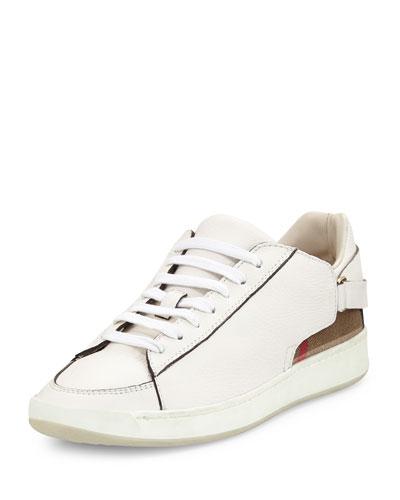 Pledwick Check-Back Sneaker, Natural