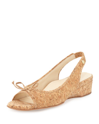 Karol Demi-Wedge Sandal, Cork