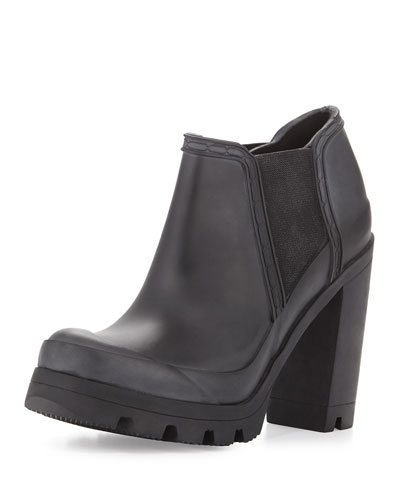 Original High-Heel Rubber Boot, Black
