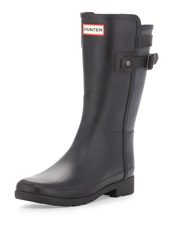 d6afb3c77cf3 Hunter Boot Original Refined Short Boot