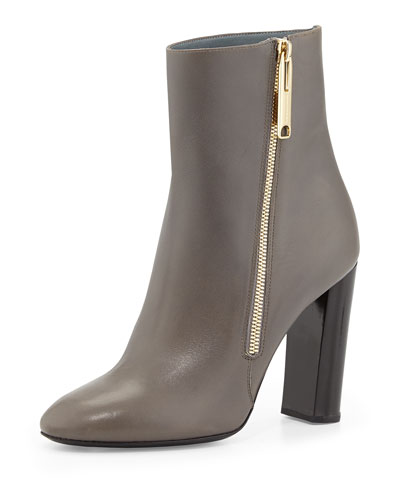 Prorsum Leather Bootie, Storm Gray