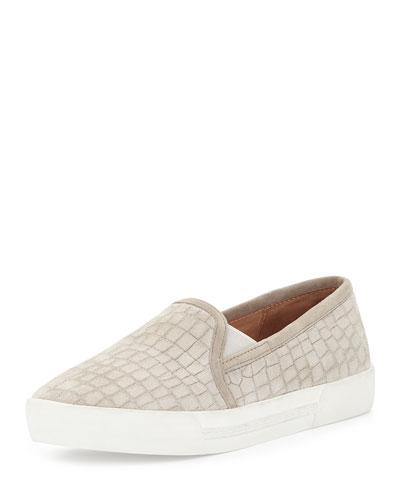 Huxley Suede Slip-On Sneaker