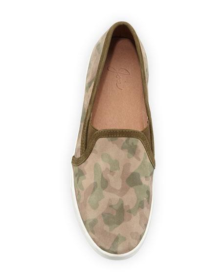 Huxley Camouflage Skate Sneaker, Khaki