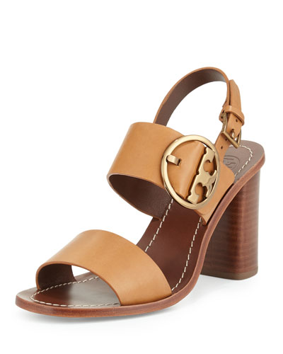 Grant Logo City Sandal, Tan