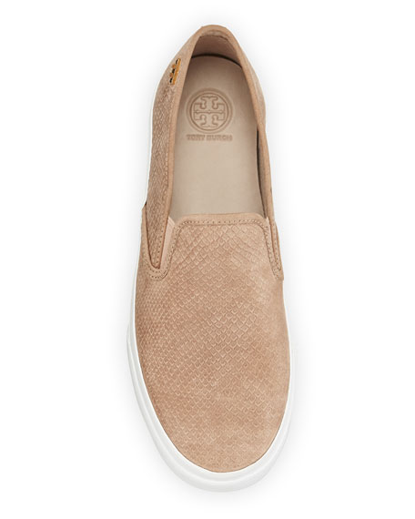 Floyd Slip-On Leather Sneaker, Taupe