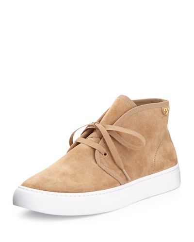 Iggy Lace-Up Sneaker, Light Camel