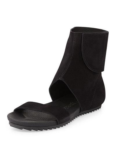 Verlee Ankle-Cuff Sandal, Black