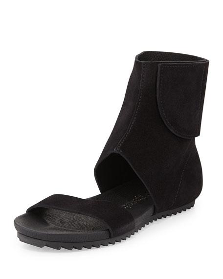 Pedro Garcia Verlee Ankle-Cuff Sandal, Black