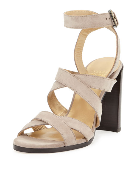 Stuart Weitzman Soundtrack High City Sandal, Topo