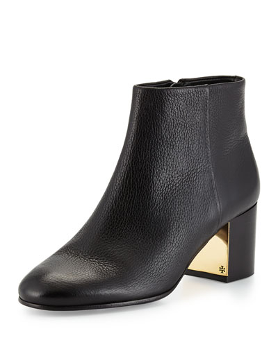 Cleveland Leather Ankle Boot, Black